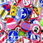 تابلوهای ترافیکی شهری